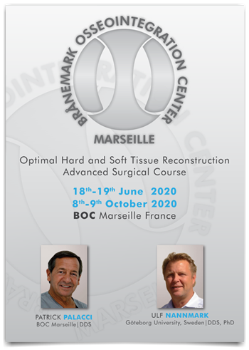 OPTIMAL HARD AND SOFT TISSUE RECONSTRUCTION - ADVANCED SURGICAL COURSE - OCTOBER 2020