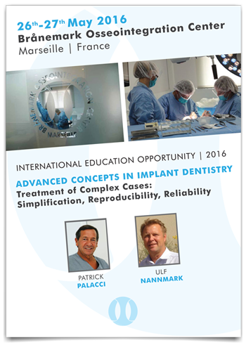 Advanced concepts in implant dentistry