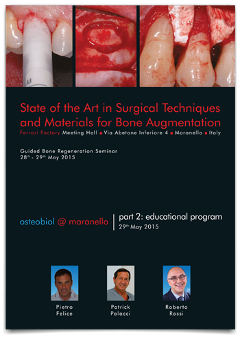 State of the art in surgical techniques and materials for bone augmentation
